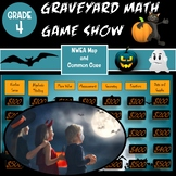 4th Grade Math Graveyard Game Show for NWEA MAP and Common Core