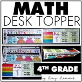4th Grade Math Helper or Desk Topper