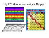 4th Grade Math Homework Helper
