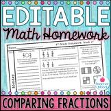 4th Grade Math Homework Week 17 {NO PREP} Spiral Review CC