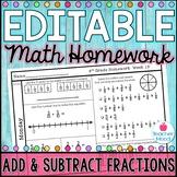 4th Grade Math Homework Week 19 {NO PREP} Spiral Review CC