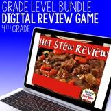 4th Grade Math Hot Stew Review Game Bundle
