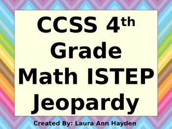 4th Grade Math ISTEP Jeopardy Review
