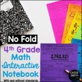 4th Grade Math Interactive Notebook