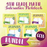 4th Grade Math Interactive Notebook, All Standards: Interactive Notebook, Math