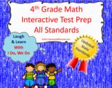 4th Grade Math Interactive Test Prep: All 34 Standards ***UPDATED***