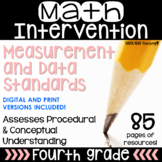 4th Grade Math Intervention NO PREP PACK RTI Guided Math M