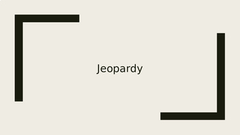 Review 4th Grade Math Jeopardy