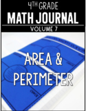 4th Grade Math Journal Area and Perimeter