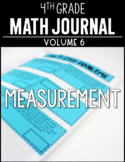 4th Grade Math Journal Measurement