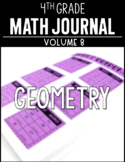 4th Grade Math Journal Geometry