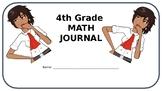 4th Grade Math Journal - Geometry - Common Core Aligned -