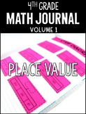 4th Grade Math Journal Place Value