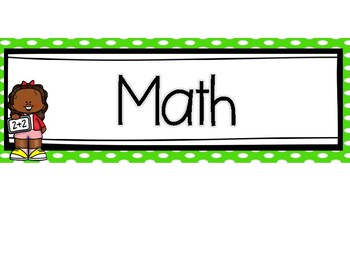 4th Grade Math Learning Targets (for Georgia Standards of Excellence)