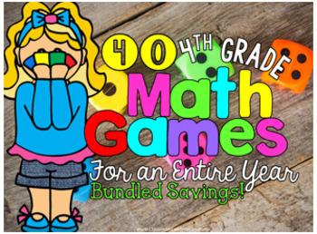 4th Grade Math Centers Galore: BUNDLE W/ 4th Grade Math Review [154 files!]