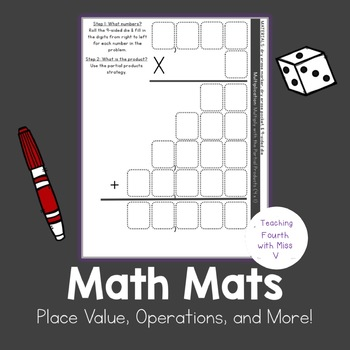 Place Value, Operations, and More! - Math Mats