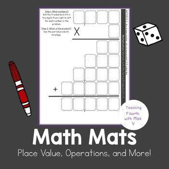 4th Grade Math Mats