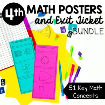 4th Grade Math Mini Bundle