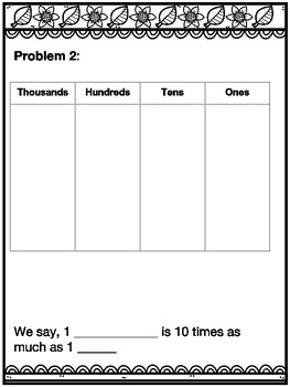 4th Grade Math Module 1