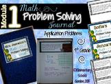 4th Grade Math Module 1 Application Problems - Problem of
