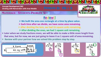 4th Grade Math Module 3 Lesson 21 PowerPoint