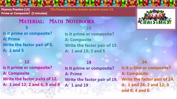 4th Grade Math Module 3 Lesson 24 PowerPoint