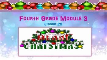 4th Grade Math Module 3 Lesson 25 PowerPoint