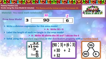 4th Grade Math Module 3 Lessons 21-27 PowerPoints Bundled