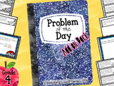4th Grade Math Module Application Problems - Problem of the Day - Add On Pack