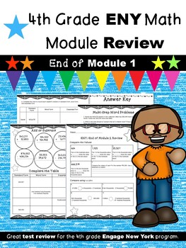 4th Grade Math Module Review (ENY Correlated)  END of Module 1