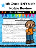 4th Grade Engage New York (ENY) Math Module Review END of Module 1