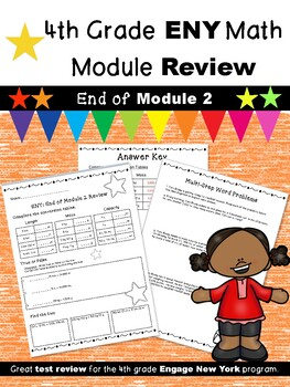 4th Grade Engage New York (ENY) Math Module Review END of Module 2