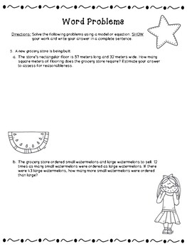 4th Grade Engage New York (ENY) Math Module Review END of Module 3