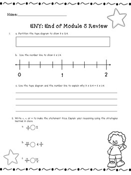 4th Grade Engage New York (ENY) Math Module Review END of Module 5
