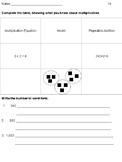Spiral Review Math Morning Work (1st Quarter)