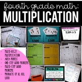 4th Grade Math:  Multi Digit Multiplication