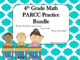 4th Grade Math PARCC Practice bundle