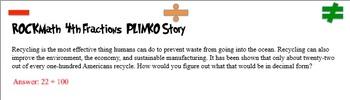 4th Grade Math PLINKO