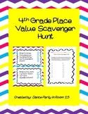 4th Grade Math Place Value Scavenger Hunt