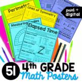 4th Grade Math Posters