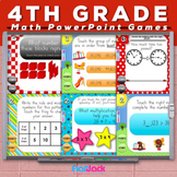 4th Grade Math PowerPoint Games MEGA Bundle