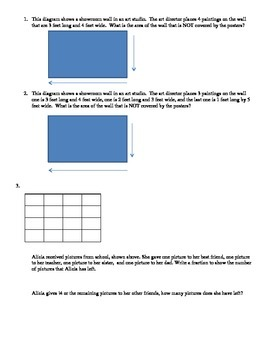 4th Grade Math Practice Standardized Test Questions