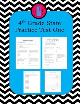 4th Grade Math Practice Test