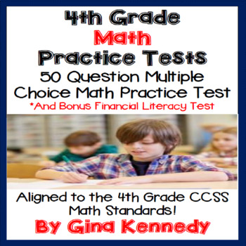 4th Grade Math Practice Test, Plus a Bonus Financial Literacy Test