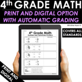 4th Grade Math Practice and Review - Google Classroom - Test Prep