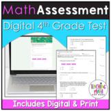 4th Grade Math Pre Assessment | 4th Grade Math Pretest Dig