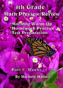 4th Grade Math Preview/Review: Part 2    (Weeks 11 - 20)
