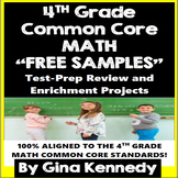 4th Grade Math Problem Solving and Enrichment Projects, FREE SAMPLES!