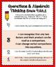 4th Grade Math Proficiency Grading Scales- Operations & Algebraic Thinking