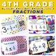 4th Grade Math QR Code Task Cards MEGA Bundle
